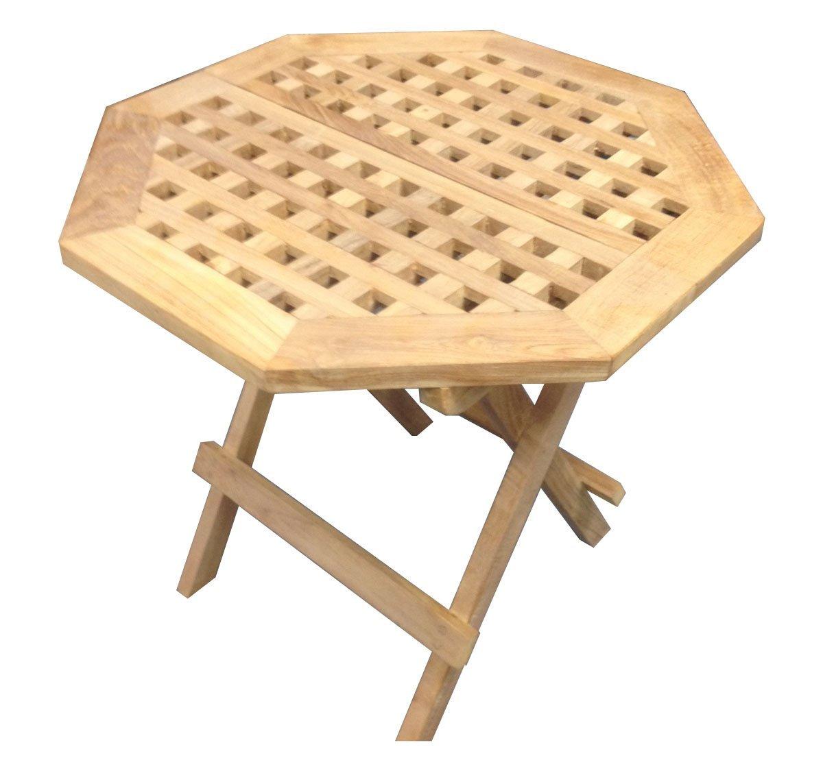 D-Art Collection Teak Octagonal Picnic Table