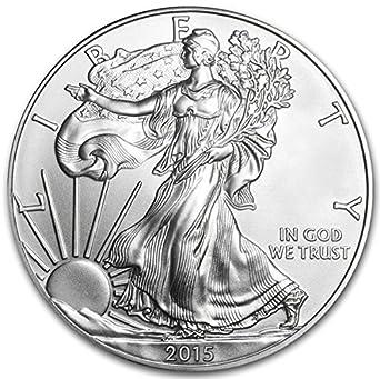 Lot of 5 Silver 2019 American Eagle 1 oz Coins .999 fine silver US Eagles 1oz