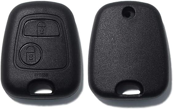 2 Tasten Schlüssel Gehäuse für CITROEN C1 C2 C3 C5 SAXO XSARA BERLINGO SAXO
