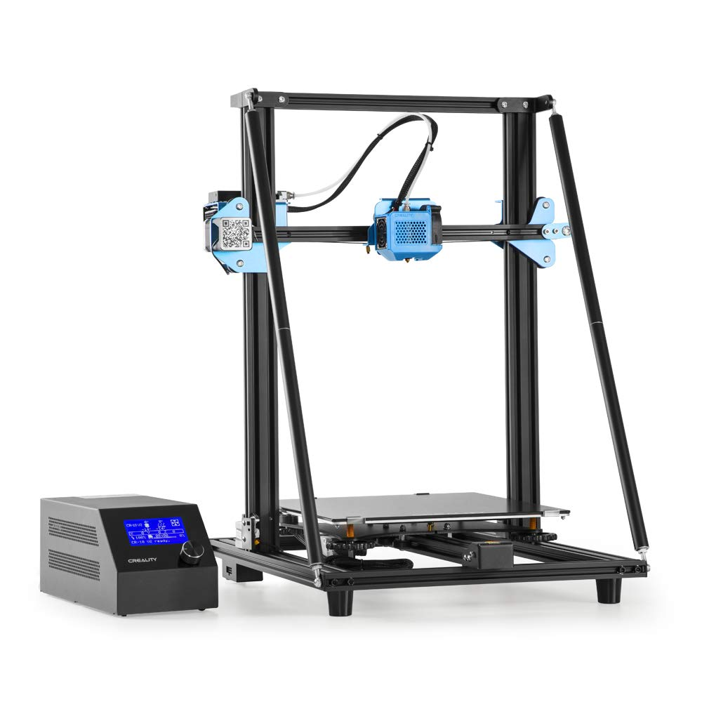 Upgrade Creality CR-10 V2 3D Printer with Silent Mainboard Meanwell Power Supply All-Metal Extruder Drive Feed Large Build Volume 300x300x400mm…
