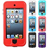 1 item of For iPod Touch 5/6 Waterproof Shockproof Durable Hard Phone Case Cover 5th 6th Gen (Color White)