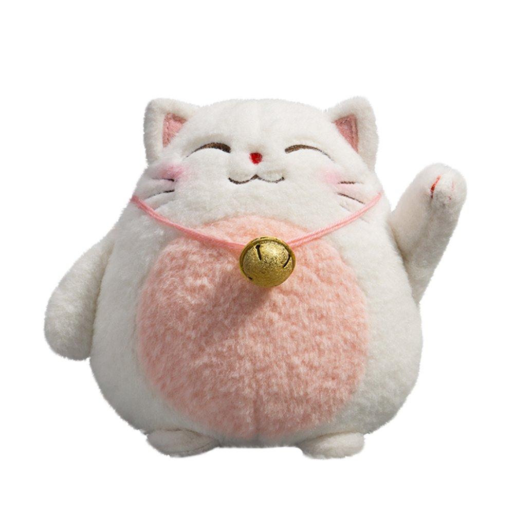 Amazon Com Socomp Cuddly Ultra Soft Lucky Cat Plush Doll Stuffed