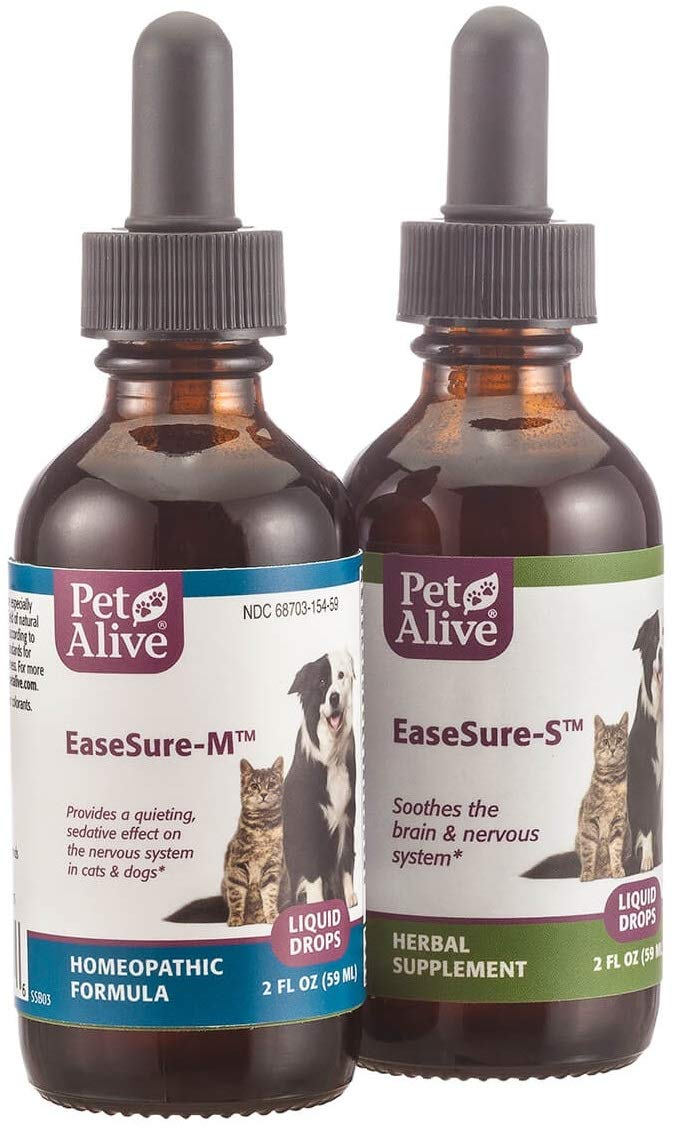 PetAlive Complete EaseSure ComboPack for Nervous System Health and Common Symptoms of Pet Seizures