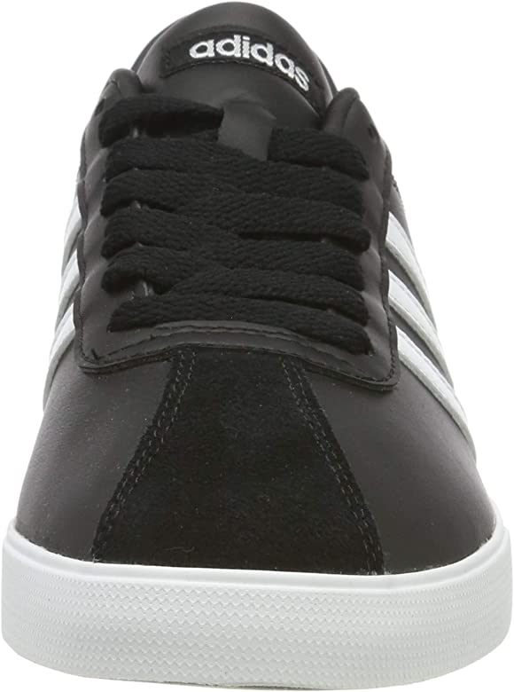 Courtset W Damen Sneaker, Damen, Core schwarz FTWR weiß Matte Silver, 36 EU