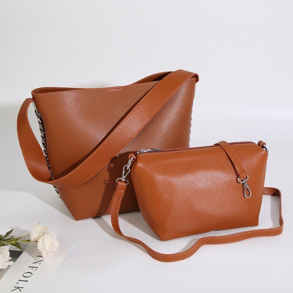 Source Eimer Mutter Tasche Mode Schulter Weiblich , braun