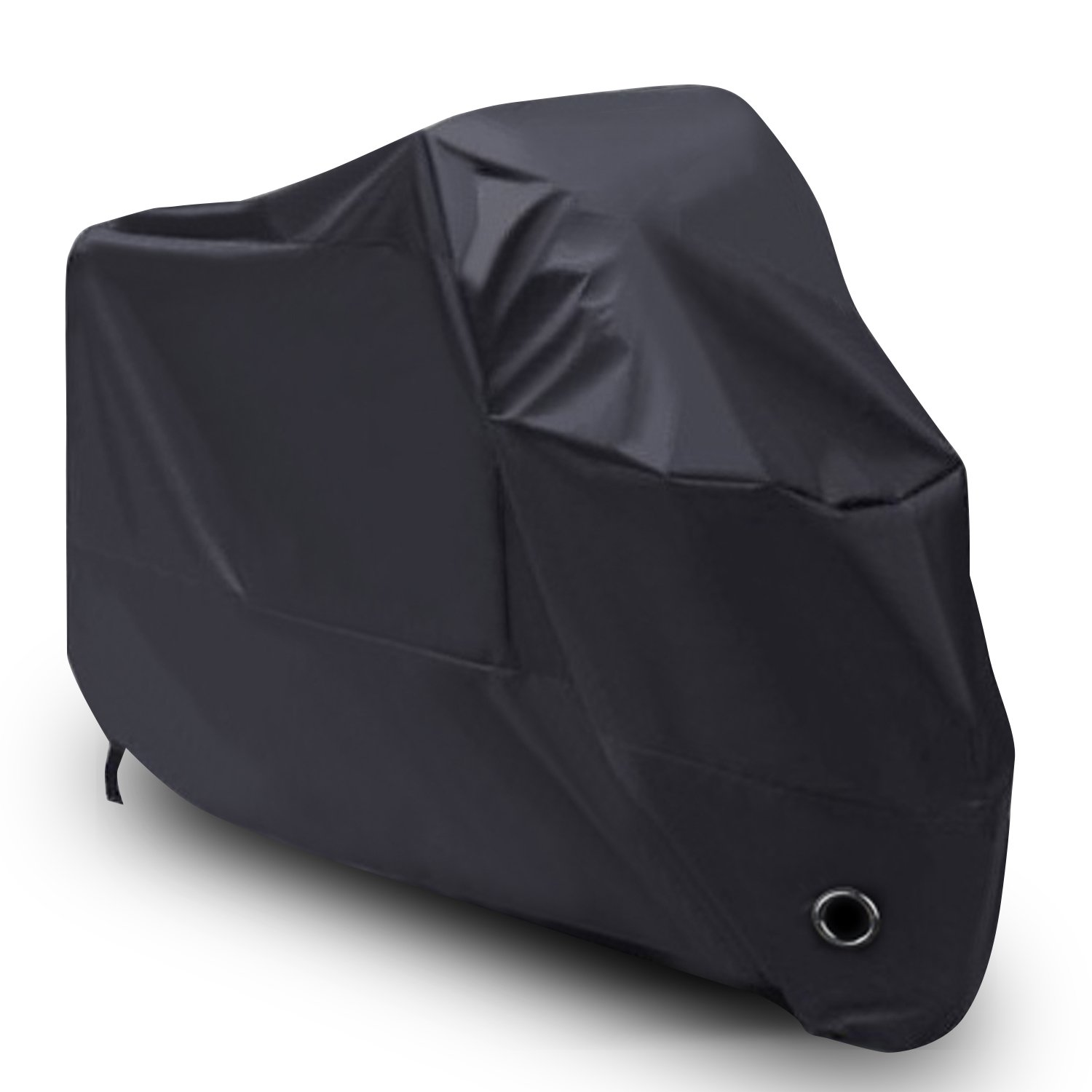 LIHAO Waterproof Motorcycle Cover Shelter Rain UV All Weather Protection
