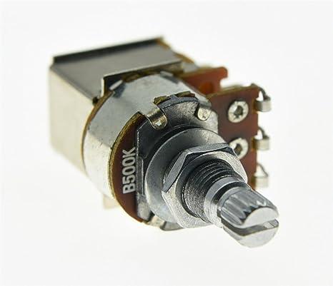 kaish lineal eléctrico guitarra Potenciómetros de ollas B500 K ...