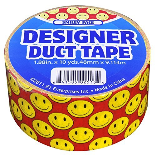 Happy Face Duck Tape 10 yards