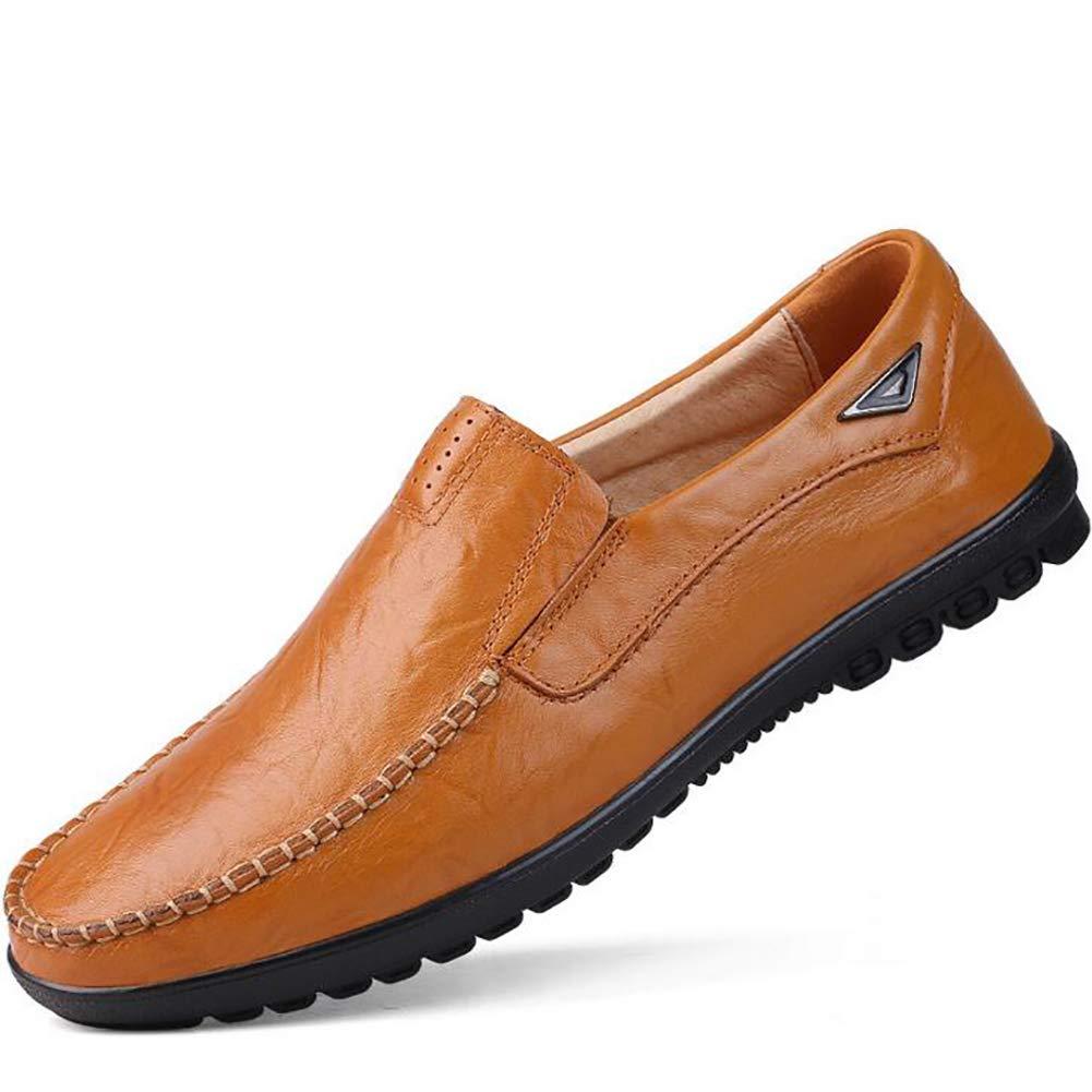 Lederschuhe Herrenschuhe Herren Leder Soft Bottom Driving Schuhe Quaste Lässig Trend Faule Schuhe