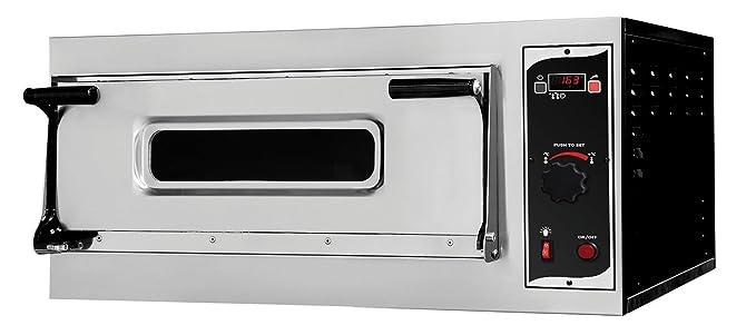 Electric pizza oven for 6 x 32 cm NEW Gastlando