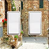 Rikki Knight Street in Tuscany Design Double Rocker Light Switch Plate