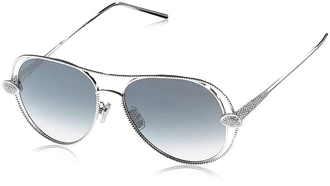 Boucheron BC0030S 002 55, Gafas de Sol para Mujer, Plateado ...