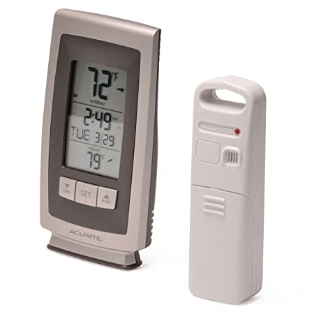 Amazon.com: AcuRite Digital Thermometer with Indoor / Outdoor Temperature: Home & Kitchen