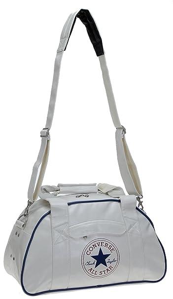 4f139206 Converse - Bolso estilo bolera para mujer blanco White (Weiss): Amazon.es:  Deportes y aire libre