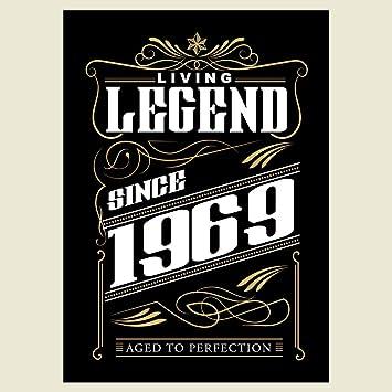 vectorbomb 1969, Living Legend seit 1969, 48th Geburtstag Begrüßung ...
