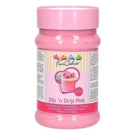 Glaseado rosa para Drip Cake – Funcakes