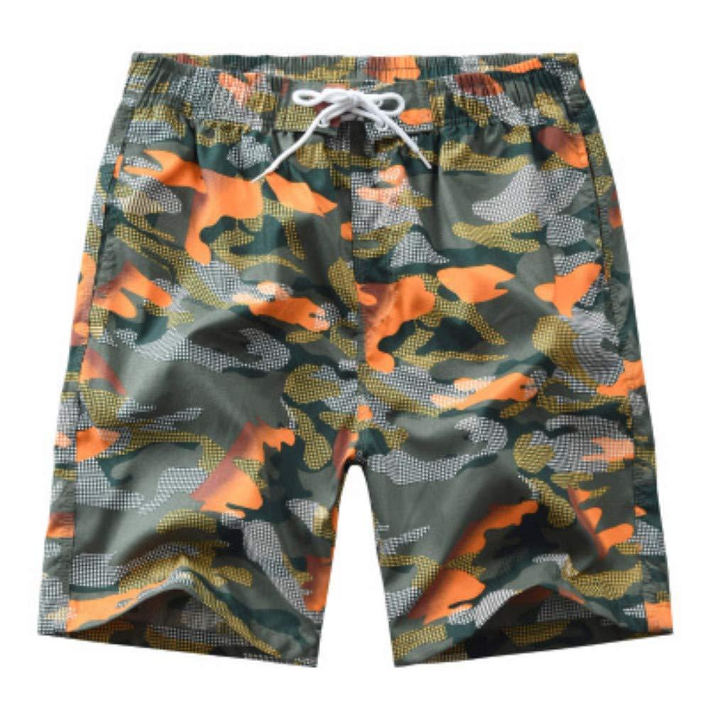 UDIYXC Strandhosen für Männer gestreifte gestreifte gestreifte farblich passende Mode für Männer Strandhosen für Männer Casual Shorts B07Q3X9JG4 Badehosen eine große Vielfalt von Waren 07154a
