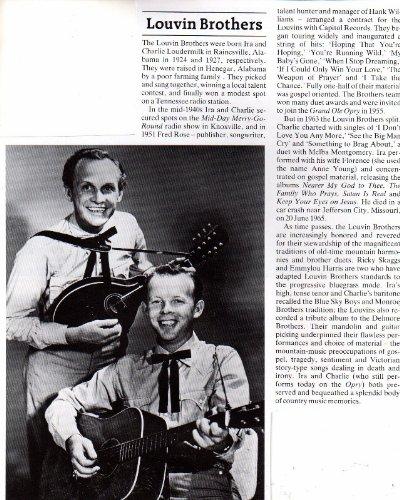 Mandolin Brothers (Louvin Brothers Mandolin Clipping Magazine Photo orig 1pg 8x10 G10096)