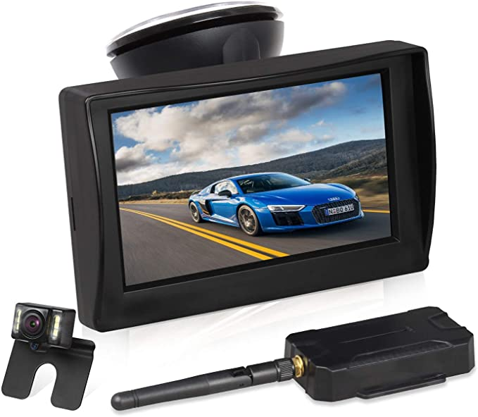 Boscam Backup Camera And Monitor Kit For Cars 4 3 Tft Lcd Rear View Monitor With Super