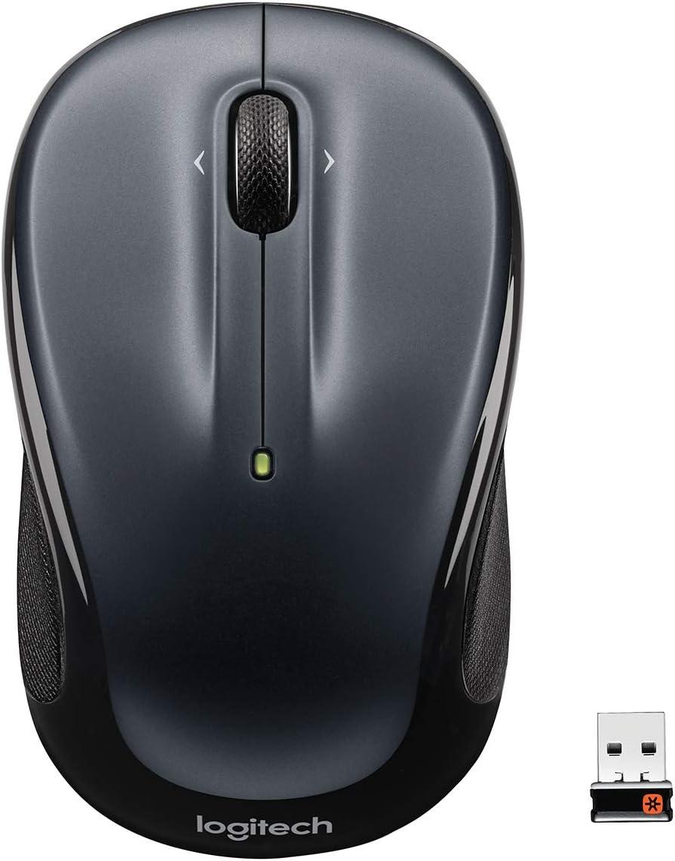 Logitech M325 Wireless Mouse Dark Silver