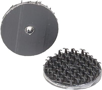 negro 3 piezas small negro Gancho multiusos con pegatina para coche