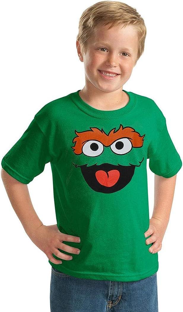 Sesame Street Oscar The Grouch Fleece Hat Age 4-8 Year Green