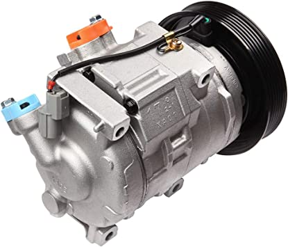 FEIPARTS CO 101410C A//C Compressor Fit for 1993-2004 F150 F53 Ford Mustang Taurus Sable Mercury Air Conditioning Compressor