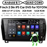 9 Inch Android 8.1 Touch Screen 2 DIN Car Video Player Stereo in Dash GPS Navigation