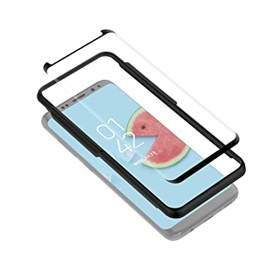 Yosh Samsung S8 Screen Protector Glass Galaxy S8 Tempered Glass Case