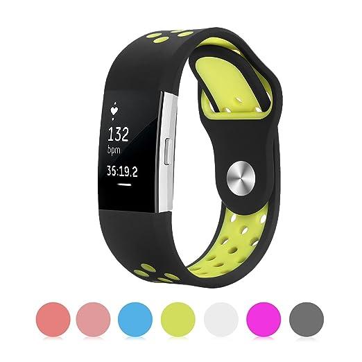 15 opinioni per Fitbit Charge 2 Band, Kutop gel di silice morbido silicone registrabili di modo