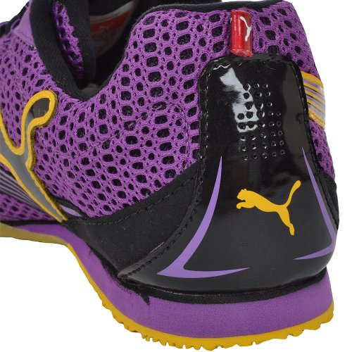 Puma - Complete TFX Distance 3 picos de running, color Purple, Yellow, tamaño 11UK