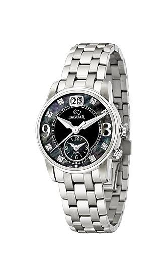 Jaguar Watches J623/C - Reloj analógico de cuarzo para mujer, correa de acero