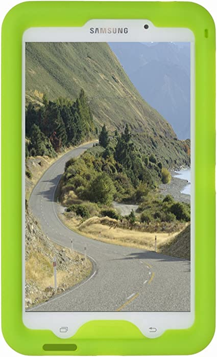 Bobjgear Carcasa Resistente Para Tablet Samsung Galaxy Tab 4 7 Pulgadas Modelos Wi Fi Sm T230 3g Sm T231 4g Sm T235 Y Otros Modelos Sm T23 Tab 4 Nook 7 Funda Protectora Verde Amazon Es Oficina