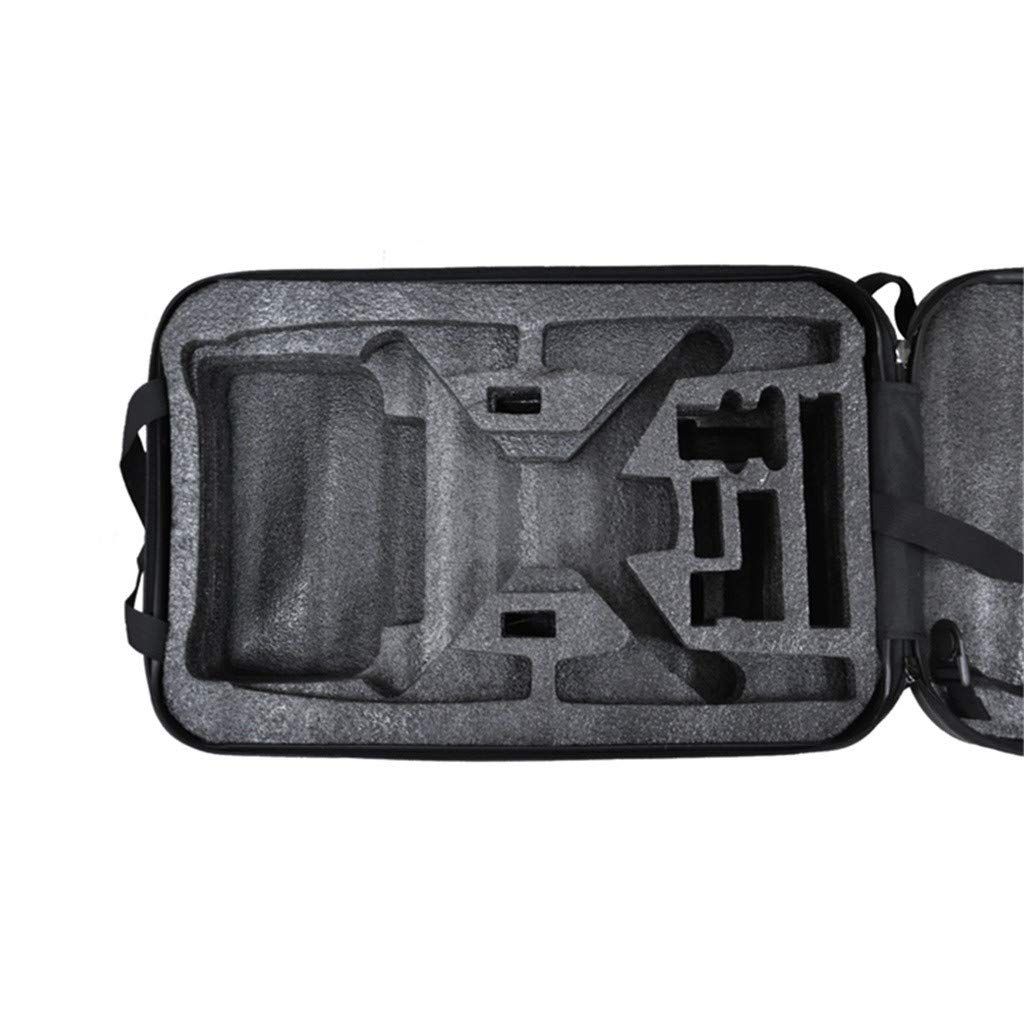 DDLmax Black ABS Hard Shell Backpack Case Bag for Hubsan H501S Quadcopter by DDLmax (Image #7)