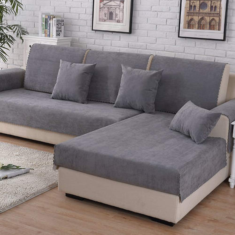 Amazon.com: ALIFET Furniture Covers Waterproof Corner Sofa ...