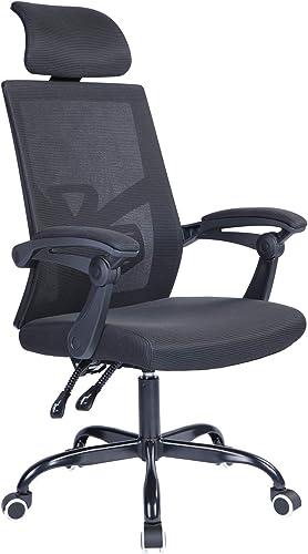 Qulomvs Mesh Ergonomic Office Chair