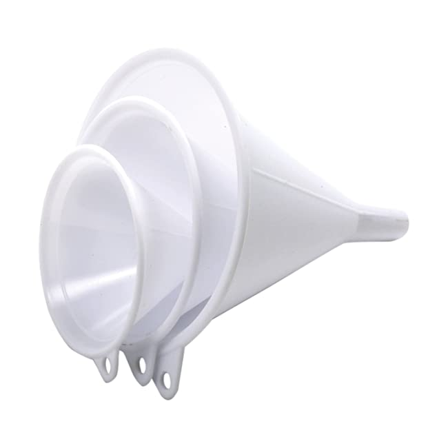 Nopro Plastic Funnel, Set of 3