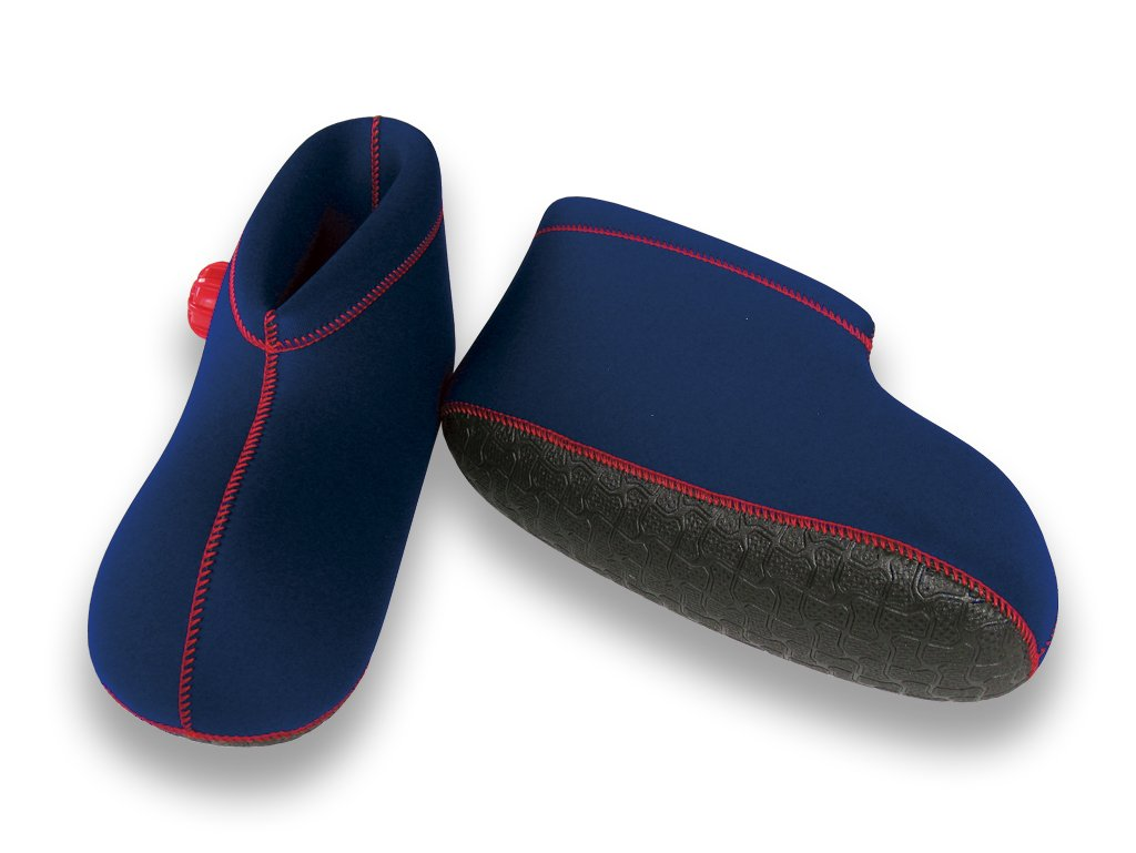 CLO'Z Yawaraka-Yutanpo Soft Hot-Water Bottle, For Feet, Sole Of Feet Included, Short-Type, Red, M: Up To 10.63'' (27Cm)