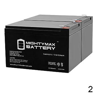 Amazon.com: 12 V 12 Ah Batería de repuesto para Tzora Lite ...