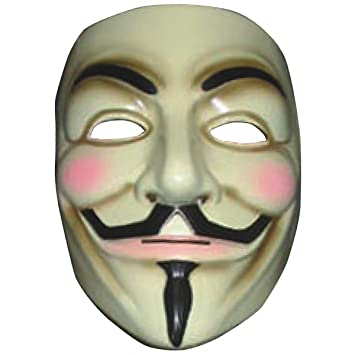 Desconocido V for Vendetta Mask (máscara/careta)