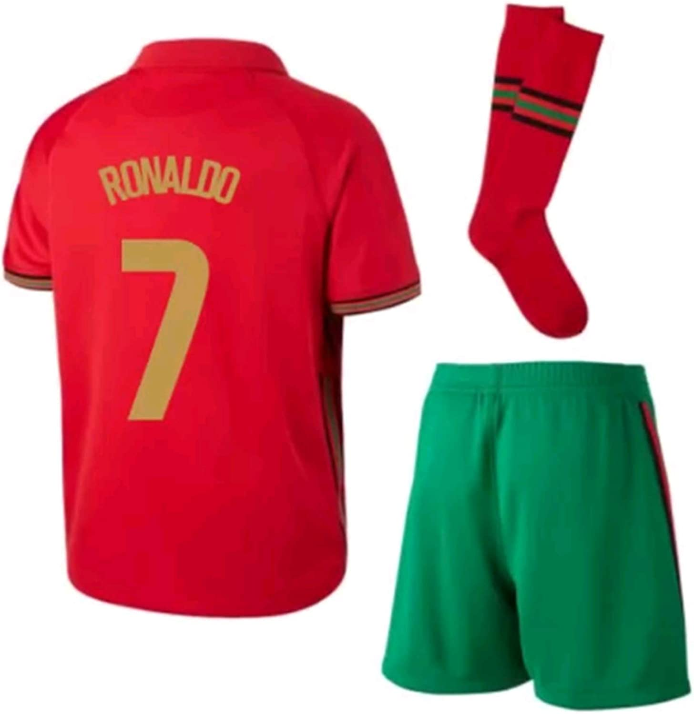 LISIMKEM 2020-2021 Kids/Youths Home Soccer Jersey/Short/Socks Colour Red