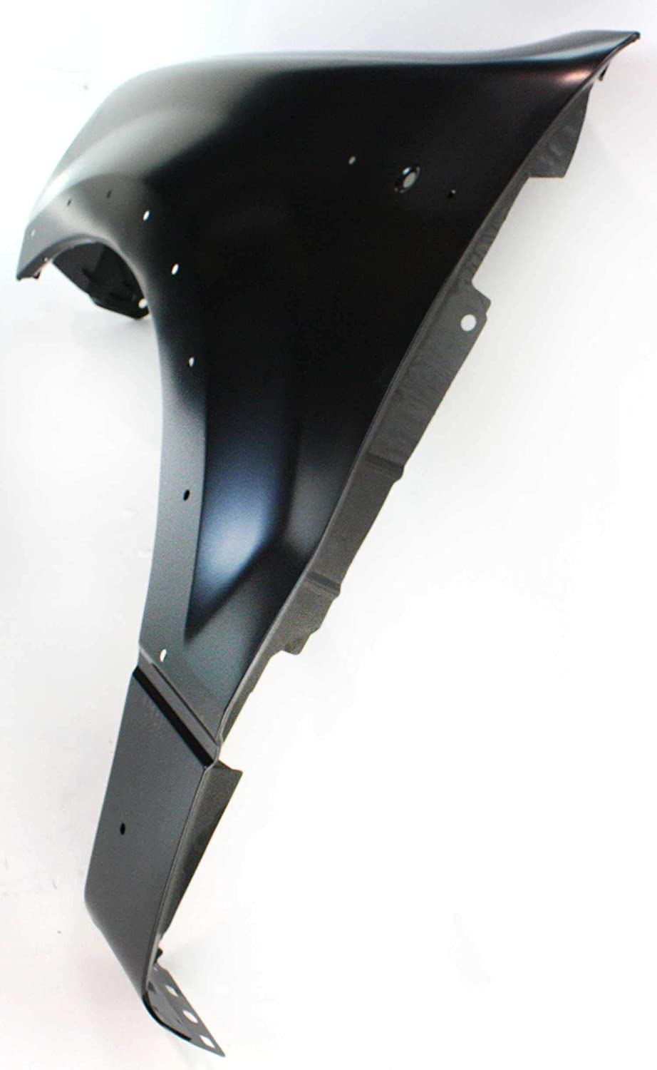 Front Fender Compatible with 2004-2008 Ford F150 with Wheel Opening Molding Holes Driver Side