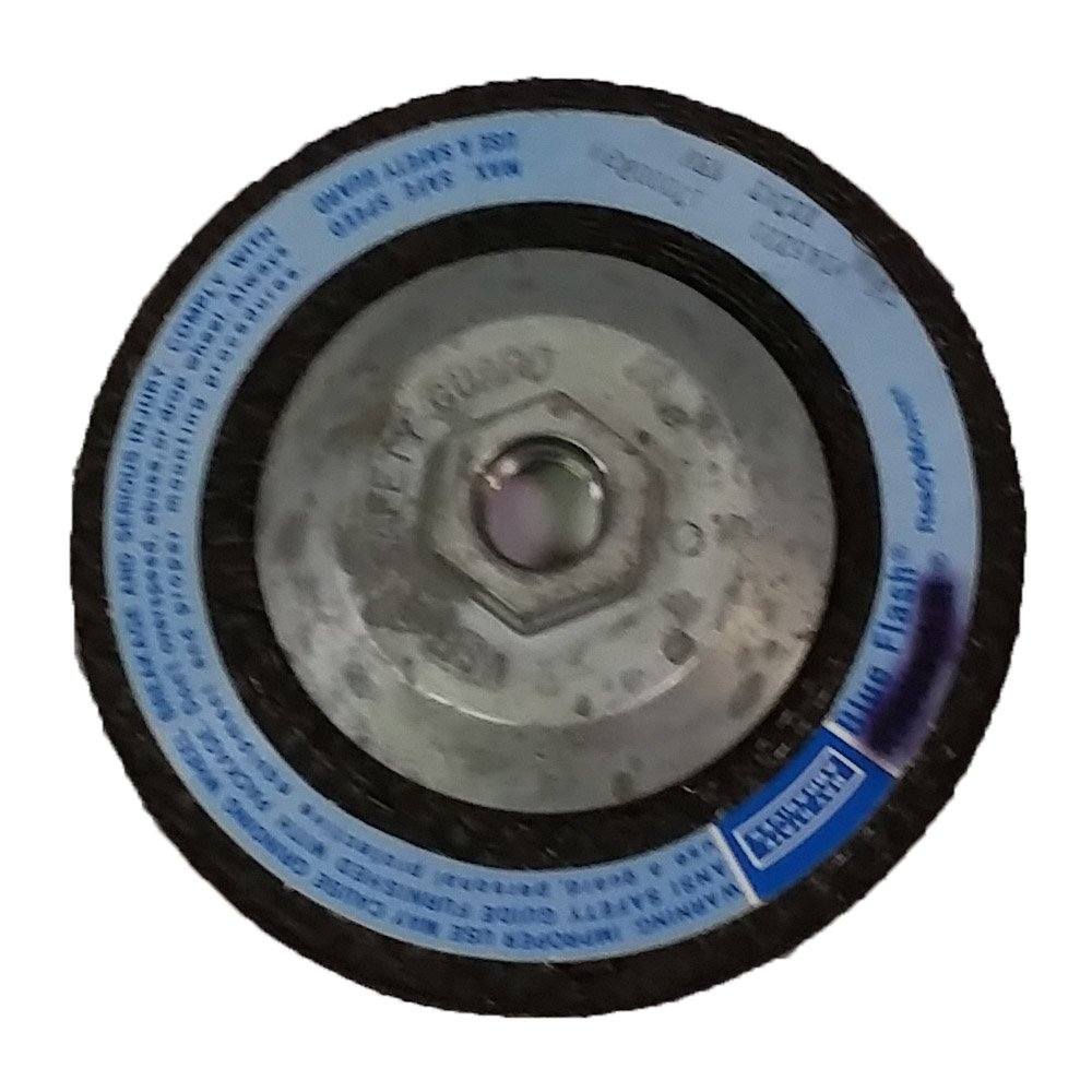 0 - 4 1/2 x 1/8 x 5/8 - 11 USA Bay State - Zirconia Grinding Disc