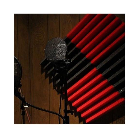 12 Pack - gris paneles acústica Studio espuma cuñas 2
