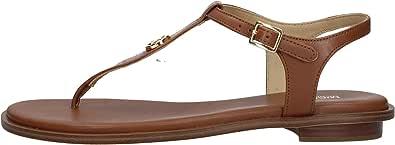 Michael Kors Sandalia Mallory Thong para Mujer Modelo 40S1MAFA2L Color Marrón (230 Luggage) (Numeric_37)