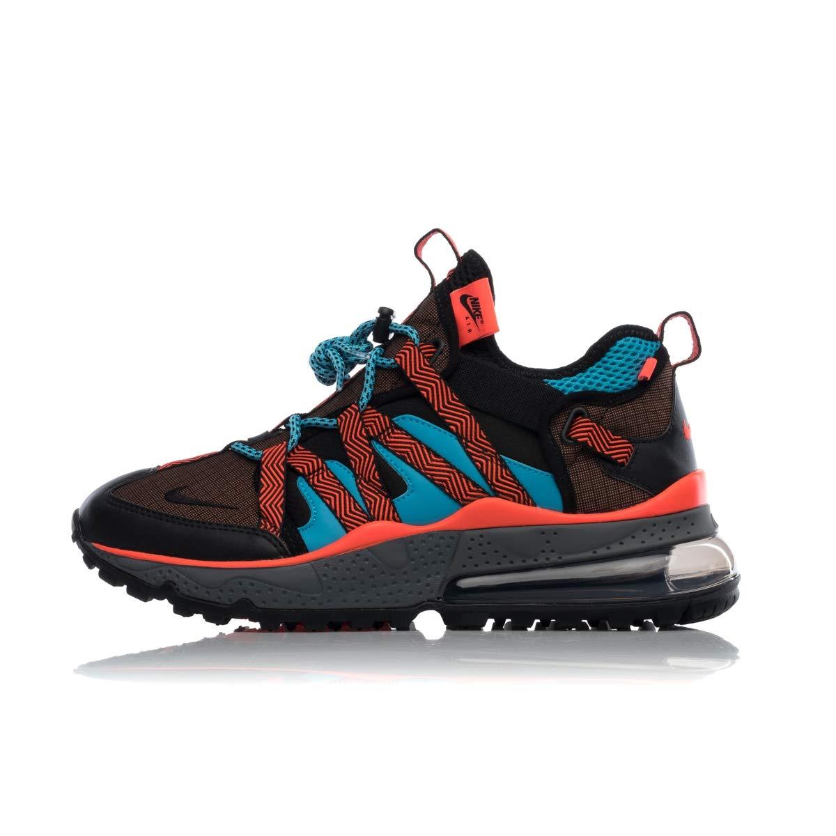 MultiCouleure (Dark Russet  noir  Bright Crimson 200) 48.5 EU Nike Air Max 270 Bowfin, Chaussures d'Athlétisme Homme
