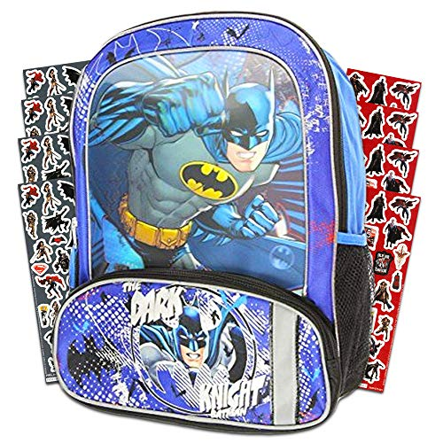 Batman Backpack for Kids Boys -- Deluxe 16