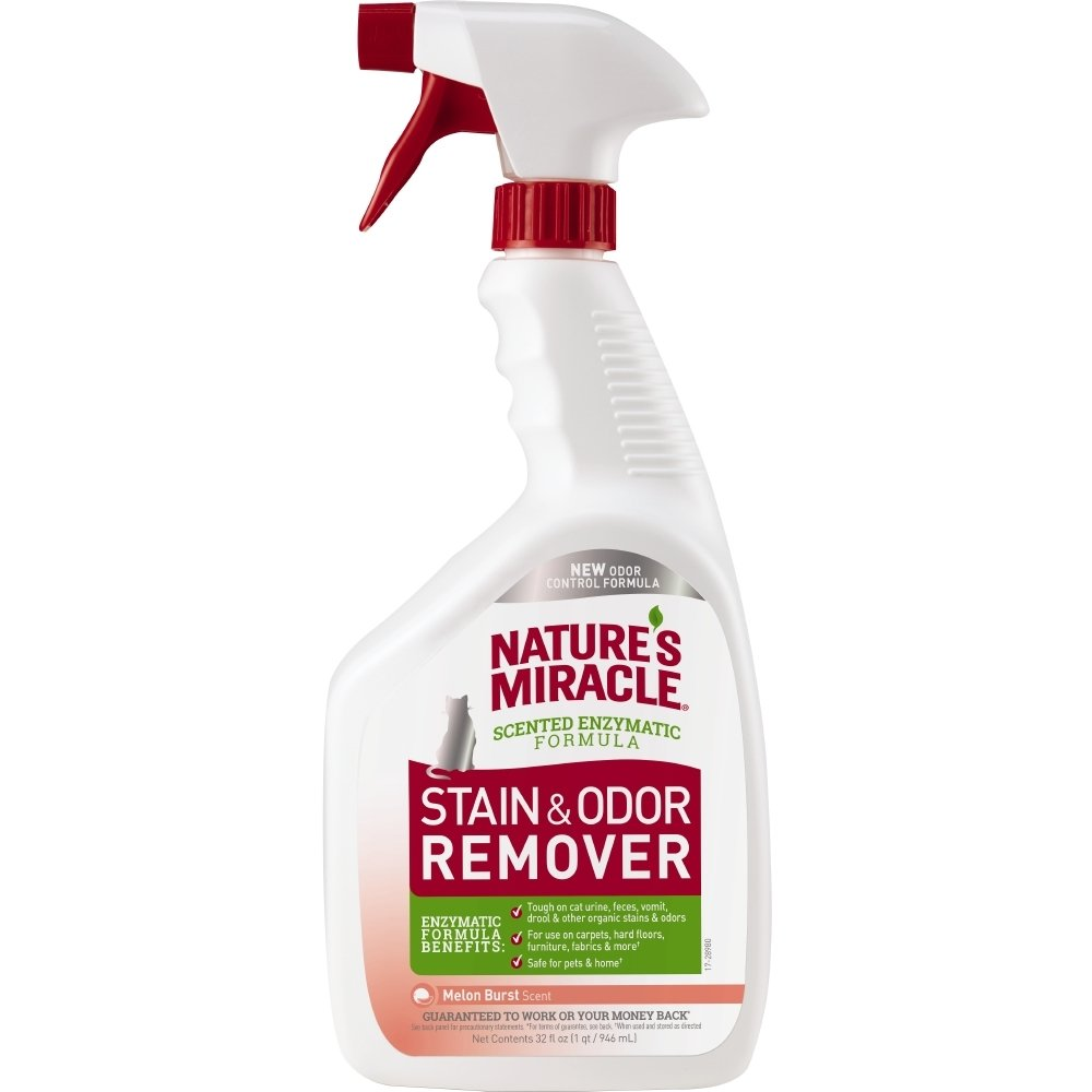 Nature's Miracle P-96976 Just for Cat Stain and Odor Remover, Melon Burst