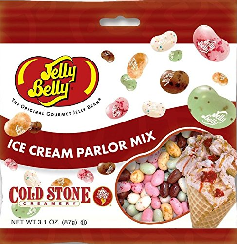 Jelly Belly Ice Cream Parlor Jelly Beans 3.1 Oz (Pack of 6)