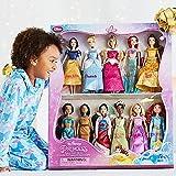 Disney Exclusive Princess Doll Collection - 12''- (11 Dolls:Snow White, Cinderella, Aurora, Ariel, Belle, Jasmine, Pocahontas, Mulan, Tiana, Rapunzel, and Merida)